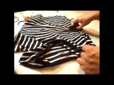 Cómo personalizar las mangas de una camiseta