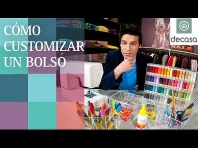 Customiza tu ropa: Cómo customizar un bolso