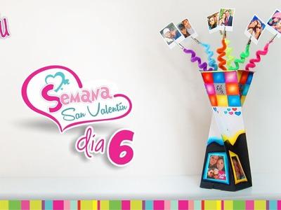 (Day 6) DIY 3 in 1 Twister Gift Box(Picture holder). (Día 6) Caja en Espiral 3 en 1 -Portaretratos-