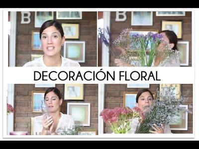 Decoracion floral barata y duradera