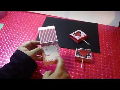 Detalle economico sobre mensaje secreto original | videos de manualidades con paletas