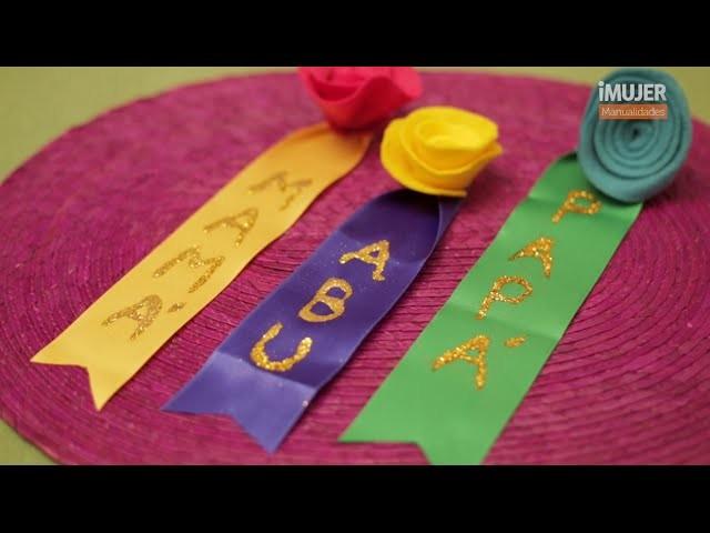 Distintivos Baby Shower | Ideas para Baby Shower | @iMujerHogar