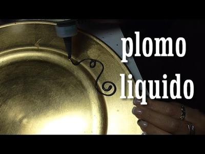 DIY COMO HACER PLOMO LIQUIDO
