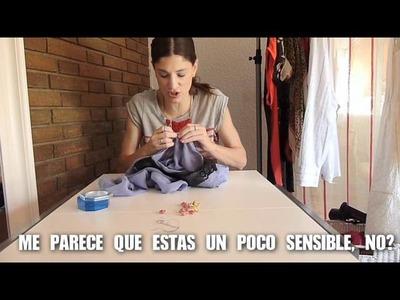 DIY Customiza la blusa que ibas a tirar