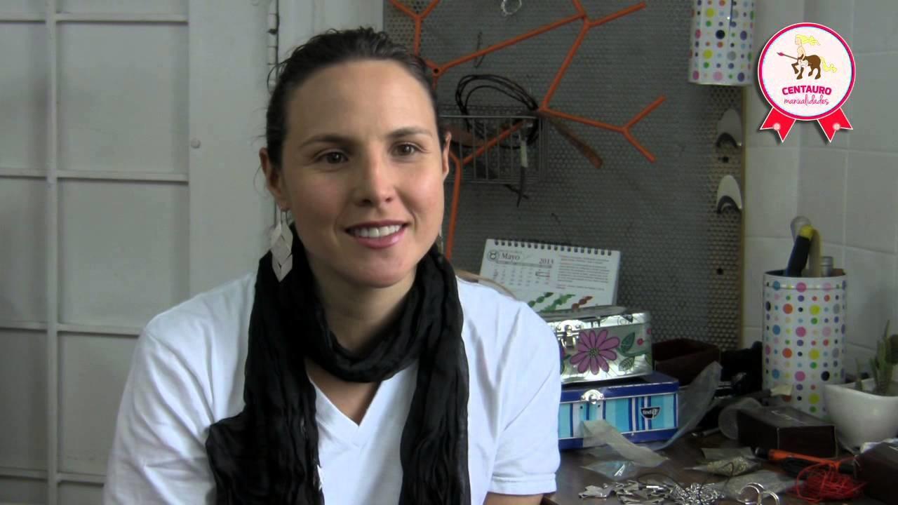 Emprendedora manualista de la semana 7 - Liliana Botero - Joyería