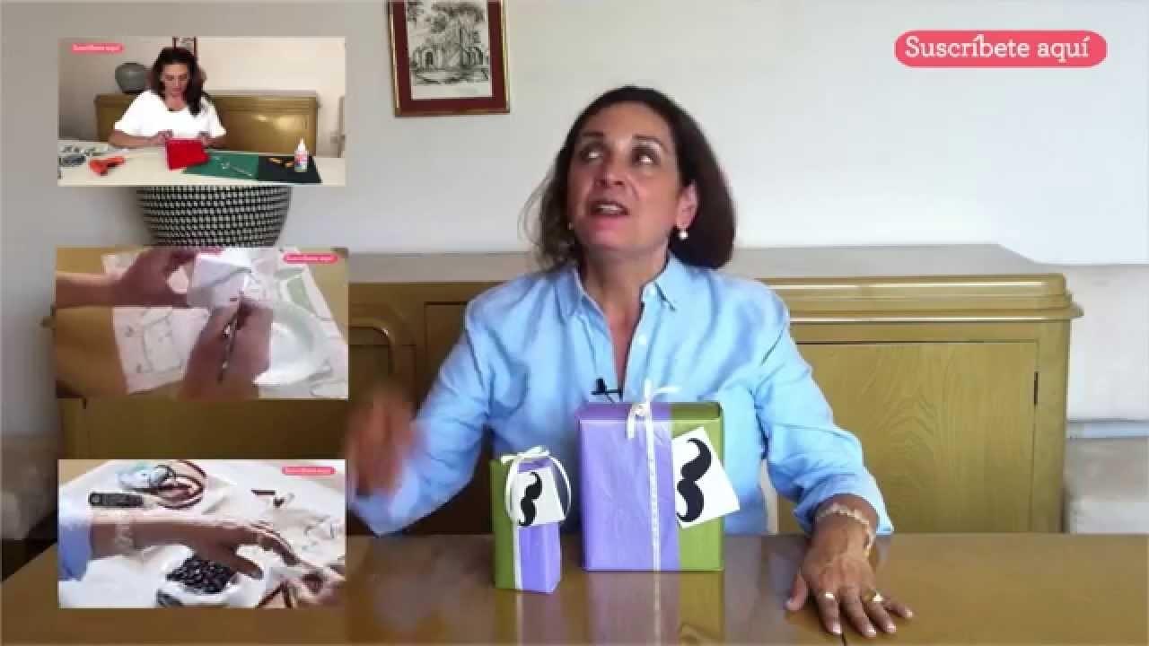 Envolver regalo del Día del Padre - DIY Father's day gift wrapping