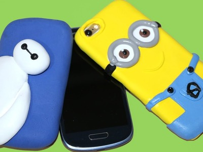 Funda para móvil de Big Hero 6, Baymax o un Minion