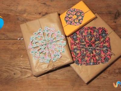 Hacer envoltorios de regalos originales