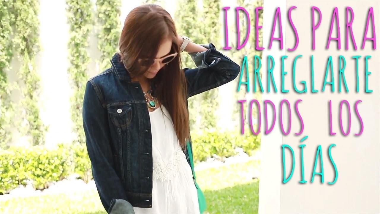 IDEAS PARA ARREGLARTE TODOS LOS DÍAS ♥ - Yuya