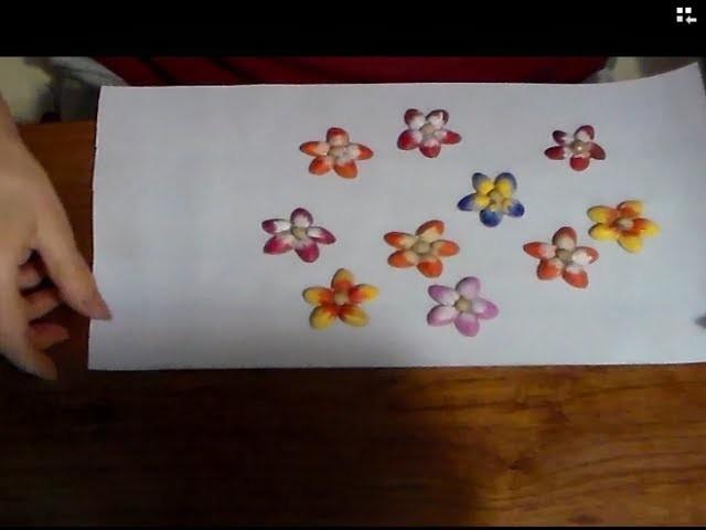 Imanes con cáscara de pistacho. Magnets pistachio shell