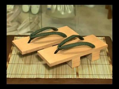Las Sandalias Japonesas en #VideoTopicos del #Japon @SpotwebTV