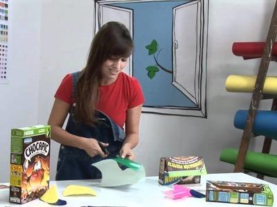Manualidades con cereales. Hacer un cofre secreto con cereales Nestlé