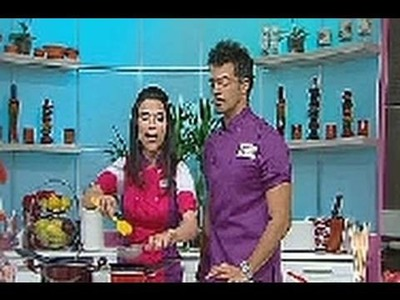Manzanas con Chamoy en la cocina de Yolo