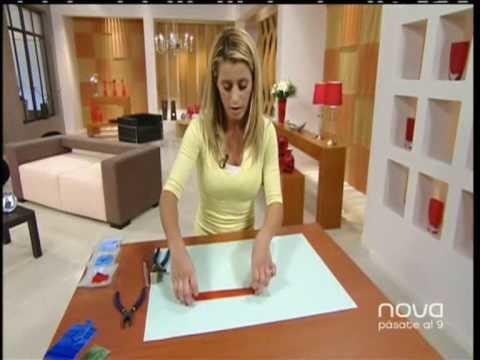 Nuria Sánchez realiza una mesa con técnica de mosaico, Bien Simple, utilísim