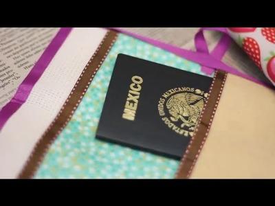Porta pasaporte súper práctico #TutoCG | Craftingeek*