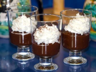 Pudín o Pudding de Chocolate Doble