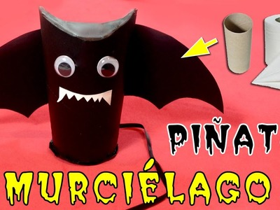 Regalos para halloween: murciélago piñata