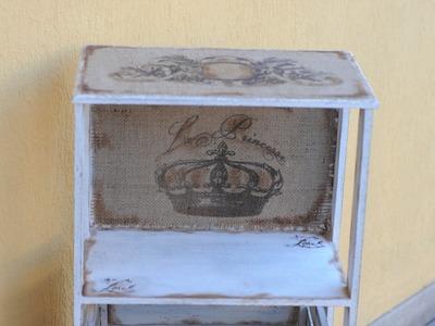 Sublimar sobre Arpillera - Mueble Vintage -