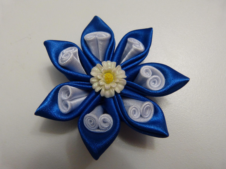 Tutorial  moños  y flores  lazos en cinta  para el cabello paso a paso.Manualidadeslahormiga