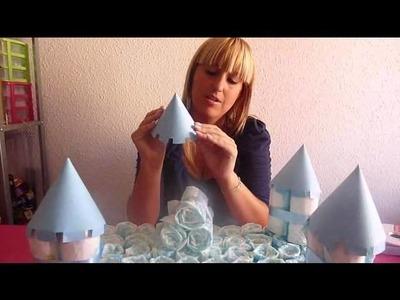 Www.masquetejas.com Como hacer un castillo de paña