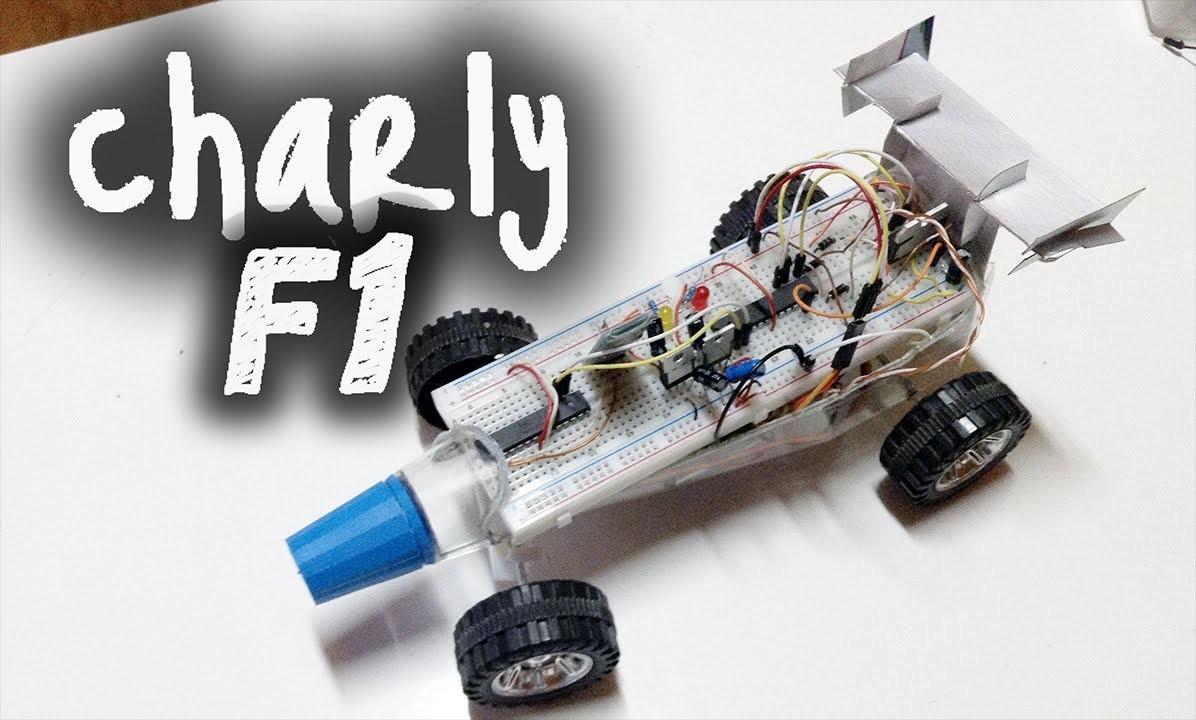 Charly F1: Auto a control remoto bluetooth con Arduino, Avr y VBasic #Labduino