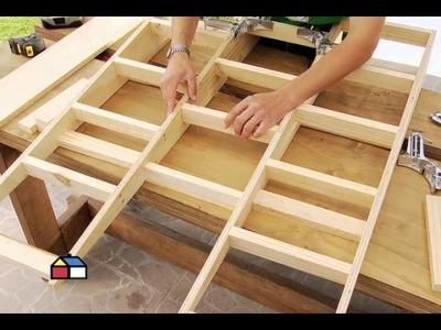 ¿Cómo construir una rampa de madera?