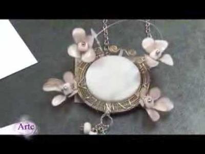 Cómo hacer adornos en bijouterie con esmaltes para uñas