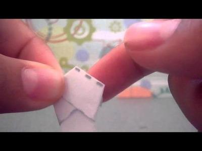 Como hacer estrellitas de papel infladas