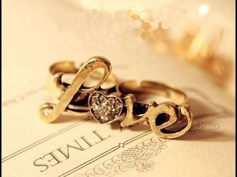 Como hacer un anillo- LOVE