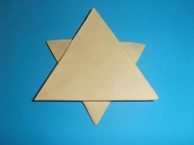 Cómo hacer una estrella de Navidad de papel