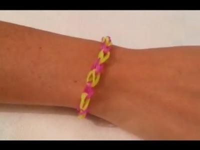 Cómo hacer una pulsera de una goma  | facilisimo.com