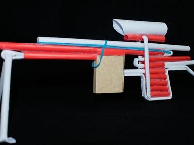 Como Hacer una Sniper de Papel que Dispara