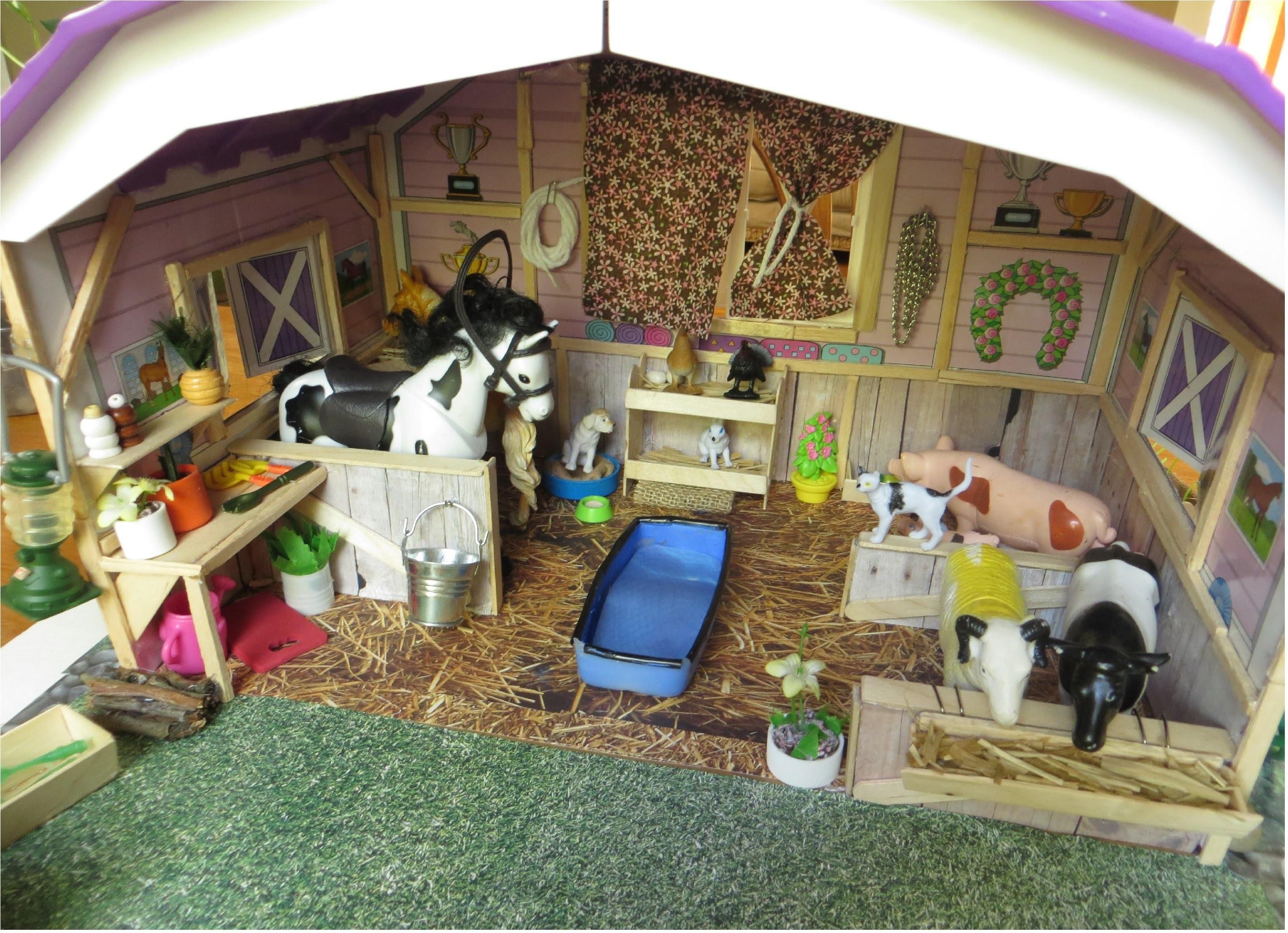 Cómo hice una granja para muñecas
