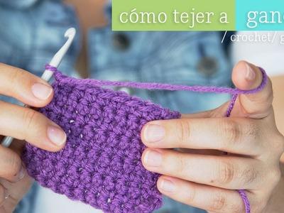 Como tejer con gancho ¡aprende ya!  [ Mini serie de Tejido EP 1 ]