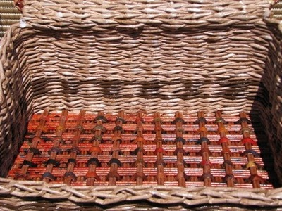 ▬► Como tejer un fondo rectangular