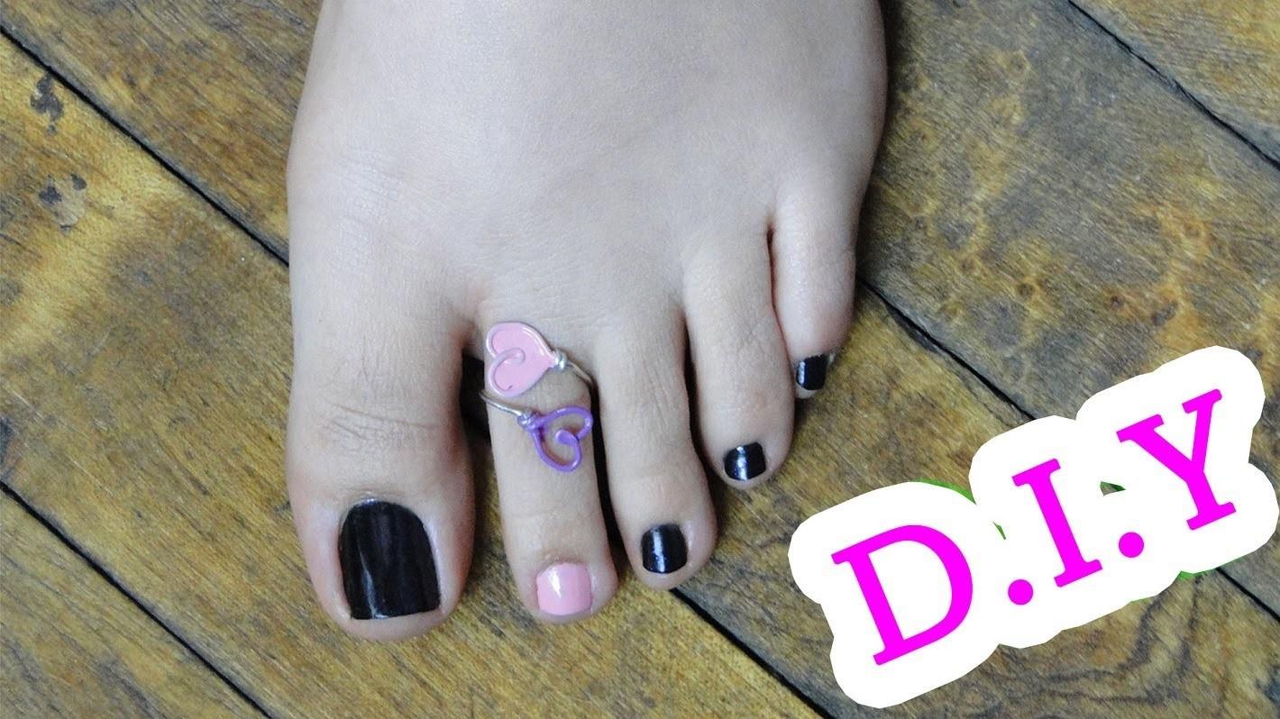 DIY Anillo Corazón ♥ Heart Ring