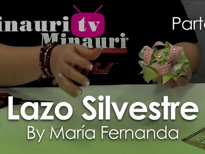 DIY - Lazo Silvestre by María Fernanda 2.2 ( How-to make ¨Silvestre¨ hair bow )