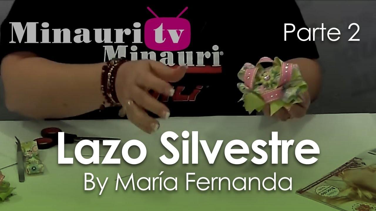 DIY - Lazo Silvestre by María Fernanda 2.2 ( How-to make ¨Silvestre¨ hair bow )