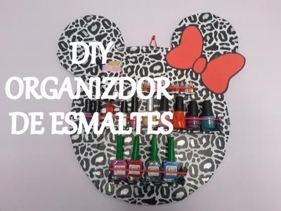 DIY  Organizador de esmaltes!!!