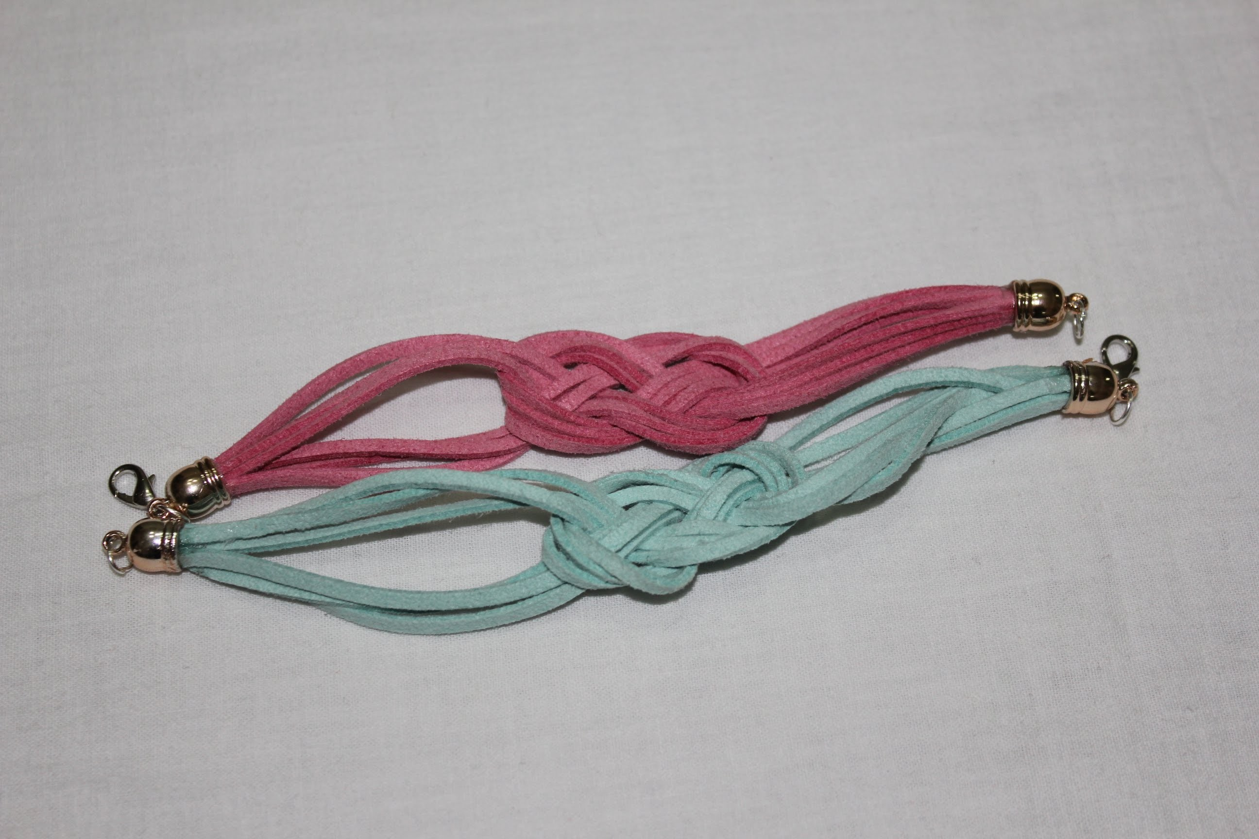 DoiiTyourSelf. Pulsera cuerda ante y nudo marinero ( suede and rope bracelet sailor knot)