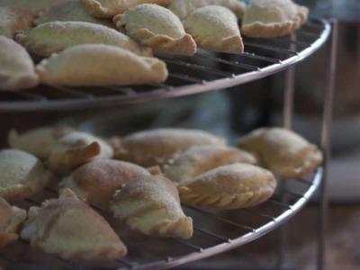 Empanadas de Cajeta. Receta