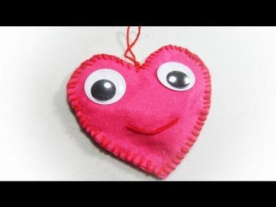 Episodio 517- cómo hacer  un saquito de aromaterapia en forma de corazón
