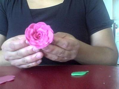 Flores de porcelana muy, muy rapidas