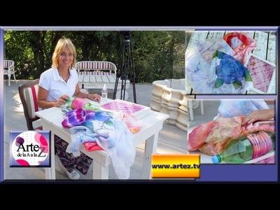 Ideas para pintar tus pareos y pañuelos
