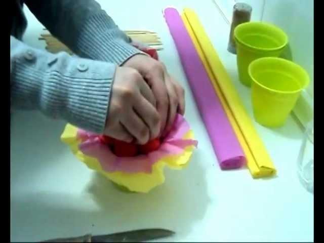 Kallejeo.com - Cómo hacer macetas de chuches