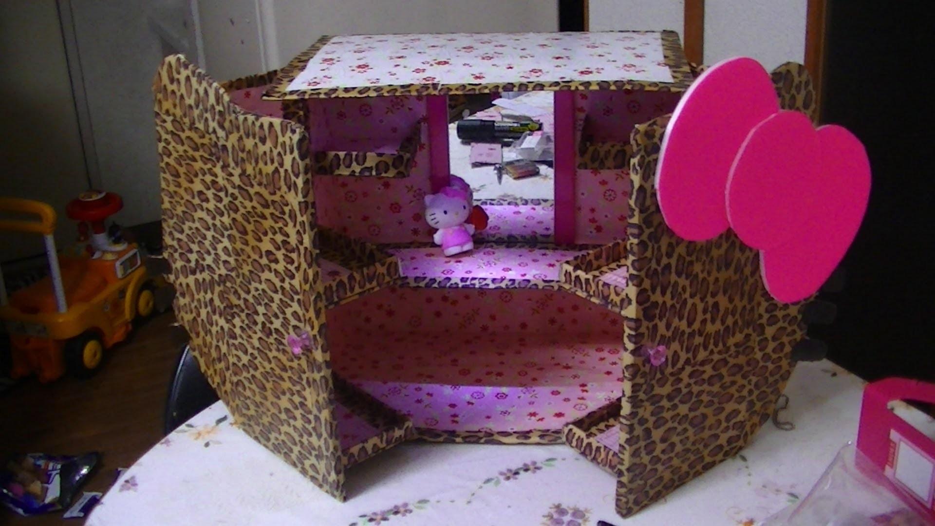 Manualidades: Organizador De Hello Kitty - JuanCarlos960