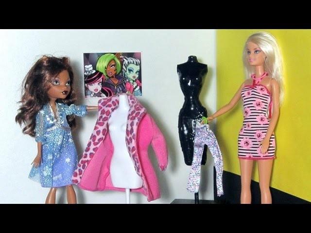 Manualidades para muñecas: Haz un maniqui para muñecas Monster High y Barbies