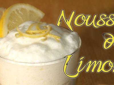Mousse de Limón Dukan (Locura Blanca) - Lemon Mousse - Receta Fase Ataque