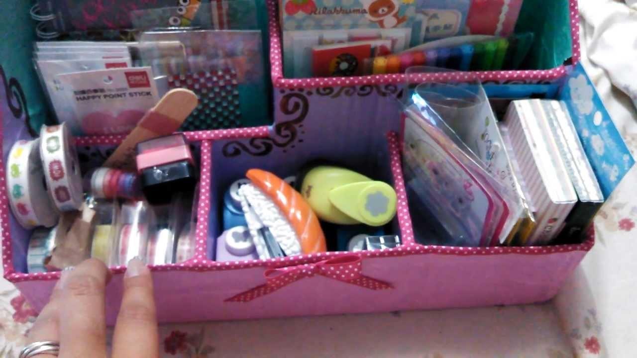 Organizador de útiles y materiales