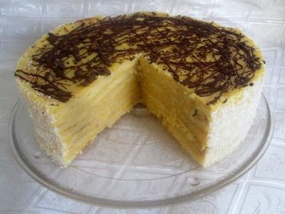 Receta: Torta Panqueque Naranja Paso a Paso - Silvana Cocina Y Manualidades